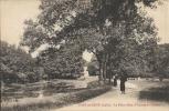 PONT-SUR-SEINE : Pièce D'eau à L'Entrée Du Chateau - RARE CPA - Courrier De 1929 - Sin Clasificación
