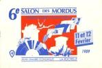 17 LA ROCHELLE - CPM 6e Salon Des Mordus - 11 Et 12 Février 1989 - Collector Fairs & Bourses