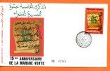 """Maroc,,morocco,marruecos;     FDC,1990;N°1088;""""marche Verte"""" - Maroc (1956-...)"""