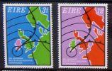 Ireland 1973 I.M.O./W.M.O. Centenary SG 330-331 MNH ** - Ireland