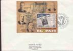 URUGUAY NEWSPAPER EL PAIS 80* ANNIV.  FDC AAC6216 - Uruguay