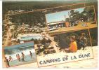 Gironde : Camping De La Dune :  PYLA  SUR  MER  :  Vue - France