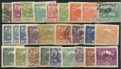 Tchecoslovaquie (1918) N 1 à 26 Charniere + Obt Sauf N 9 + N 13 - Oblitérés