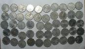 ISRAEL LOT 50 COINS AGORAH AGORA 1960:80 TEMPLATE LIST - Monedas