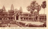 Ruines D´Angkor Entrée Principal Des Galeries - Cambodja