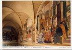 Santino Cartolina FRESKEN IM KREUZGANG DER ABBAZIA DI MONTE OLIVETO MAGGIORE 2000 - OTTIMO D8 - Religion & Esotérisme