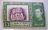 British Honduras 1937 Maya Figures 1c Mint Not Hinged - British Honduras (...-1970)