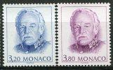 Monaco - YT N° 1722/23 - S.A.S. Rainier III - Sin Clasificación