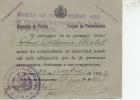 """Lima Pérou Carte De Circulation En Cession De Passeport  """"session De Pasaportes * Lima * """" 1922 - Ohne Zuordnung"""