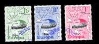 HERM  EUROPA 1964 Série Ø  Carte Géographique  Bateau - Local Issues