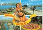 Souvenire De Geneve Pin Up - GE Geneva
