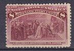 United States 1893 Mi. 79     8 C Entdeckung Amerikas Christoph Kolumbus Columbus MNG, No Thins !! - Ungebraucht