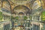 Istanbul, Intérieur Du Musée De Sainte Sophie 1977 - Turkey