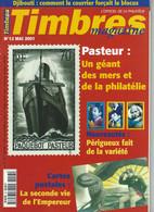 MAG--241. TIMBRES MAGAZINE N° 13, Mai 2001, COLONIES  FRANCAISE = DJIBOUTI, LE BLOCUS DE 1940 - 1942 - Français (àpd. 1941)
