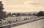 AK SCHOTTLAND GLASSGOW CORPORATION BOWLING GREENS QUEEN'S PARK  OLD POSTCARD 1910 - Ecosse