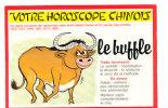 Votre Horoscope Chinois. Le Buffle. Abeille Cartes - Astrologie