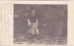 DANEMARK - 1910 - YVERT N°56 Sur BELLE CARTE POSTALE PHOTO (PATISSIERE CHOCOLATIERE) De KOLDING Pour MINNEAPOLIS (USA) - Danemark