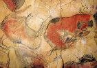 Cuevas De Altamira (Spagna) - Riproduzione GRUPPO DI BISONTI - PERFETTO D12 - Andere Verzamelingen