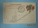 CARTE EN FRANCHISE  TRESOR ET POSTE   RETOUR  PAS POUR LE SECTEUR POSTAL 57 - Marcophilie (Lettres)
