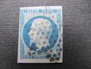 6021 Premier Président De La République France  Napaléon III Dallay 9 YT 10  20c Bleu - 1852 Louis-Napoléon