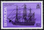 Bermuda #495 XF Mint Never Hinged $2 ´Lord Amherst´ Shipwreck From 1986 - Bermuda