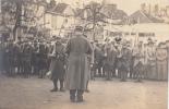 CARTE PHOTO à Identifier. Se Situe Peut-être à Metz ? Ecrite 1916 (2 Scans) - Régiments
