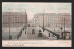 Exposition  De Liège1905. Le Pont De La Boverie Après Les Travaux D'élargissement. TRAM, Attelages, RARE! - Liège