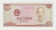 VIET NAM 200 DONG 1987 UNC P 100a  100 A - Vietnam