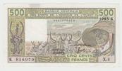 West African States (Sengal) 500 Francs 1983 AXF P 706Kf  706K F - États D'Afrique De L'Ouest