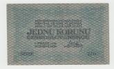 Czechoslovakia 1 Koruna 1919 VF++ RARE Banknote P 6a  6 A - Tsjechoslowakije