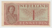 NETHERLANDS 1 GULDEN 1949 VF+ P 72 - 1 Gulden