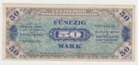 GERMANY ALLEMAGNE 50 MARK 1944 VF+ P 196d 196 D - [ 5] 1945-1949 : Occupazione Degli Alleati