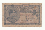 Belgium BELGIQUE 1 Franc 1920 VG-F RARE Banknote P 92 - [ 2] 1831-... : Belgian Kingdom