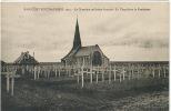 Rancourt Bouchavesnes 1915 Serie  3 Cp Ossuaire, Chapelle, Cimetiere, Presbytere, Canon 75 - France