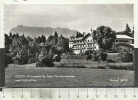 AUSTRIA Kössen Erholungsheim Der Tiroler Gebietskrankenkasse Gegen Kaisergebirge 1956 Monopol Nr23012 - Oostenrijk