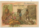 Mines Or Gold Mine California Chromo 11 Par 7 Pub Chocolat Poulain Lavage Femme Nue - Chromos