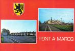 Carte Postale 59.  Pont A Marcq  L'Usine Agfa GEVAERT Et La Gendarmerie Trés Beau Plan - France
