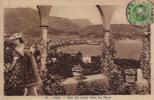 NICE -  BAIE DES ANGES ENTRE LES FLEURS  -  Cachet PONT SAINT-LOUIS FRONTIERE FRANCO-ITALIENNE - Non Classés