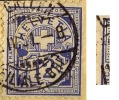 """Ziffer 62B, 12 Rp.ultramarin   """"unregelmässige Randlinie""""      1901 - 1882-1906 Wappen, Stehende Helvetia & UPU"""