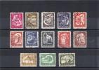 Rumania  -  1960  -  Yvert - Sellos De La Serie 1690 / 709 ( Usado ) - Oblitérés