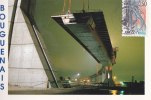 ¤¤  -  BOUGUENAIS  -  NANTES  -  Construction Du Pont De CHEVIRE  -  Pose De La Travée Centrale  -  ¤¤ - Bouguenais