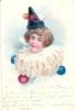 1902 - SUPERBE CLOWN ART NOUVEAU VICTORIEN - CIRQUE - CIRCUS - PRECURSEUR - Künstlerkarten