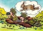 CP Humour Militaire : Dessin De I . Riva (N°12) - Humour