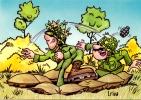 CP Humour Militaire : Dessin De I . Riva (N°11) - Humour