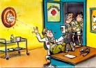 CP Humour Militaire : Dessin De I . Riva (N°8) - Humour