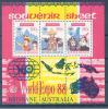 INDONESIA  Mi.Nr. Block 59 A World Expo 88 Bisbane Australia Map -MNH - Weltausstellung