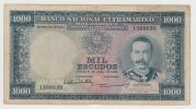 """Portugal Mozambique 1000 Escudos 1953 """"F+"""" P 105 - Mozambique"""