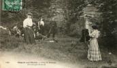 CPA 94 NOGENT SUR MARNE L ILE DE BEAUTE NE BOUGEONS PLUS 1909 - Nogent Sur Marne