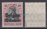 Belgien,5 I,xx,gep. Hey BPP - Besetzungen 1914-18