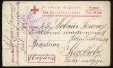 RUSSIA AUSTRIA - HUNGARY WWI CENSORED RED CROSS POW CARD KRASNOJARSK  25661 - 1857-1916 Empire